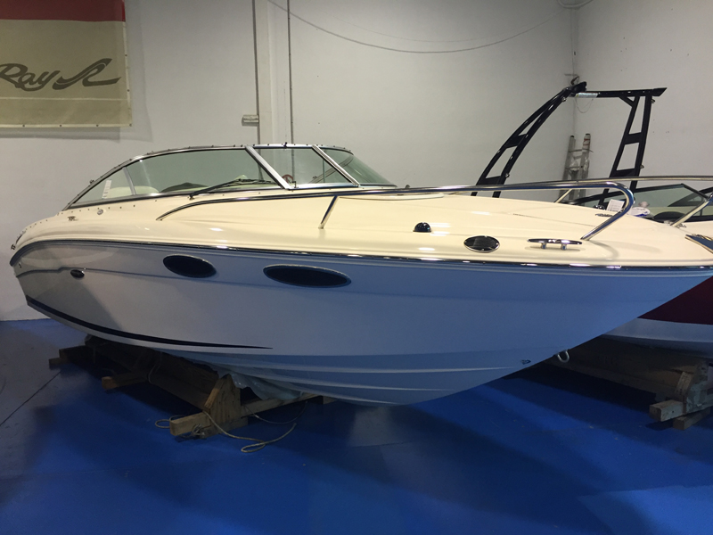 SEA RAY 240 SUN SPORT STOCK ENTREGA INMEDIATA
