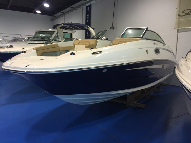 SEA RAY 260 SUNDECK STOCK ENTREGA INMEDIATA