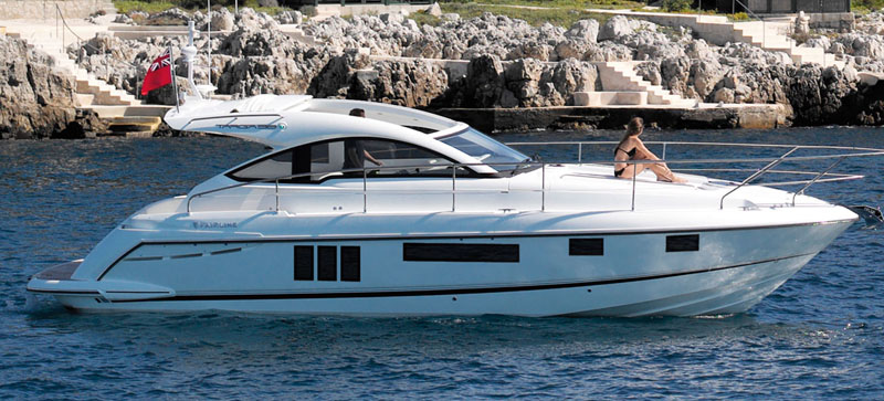 FAIRLINE TARGA 38 OPEN STOCK ENTREGA INMEDIATA